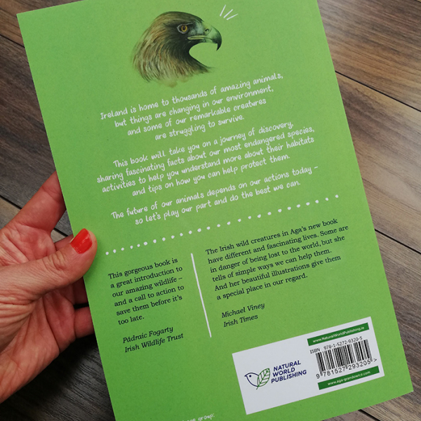Remarkable Creatures: a guide to some of Ireland's disappearing animals –back c